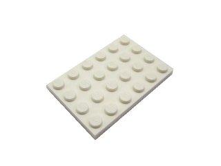 #3032 プレート 4x6  【白】 /Plate 4x6 :[White]