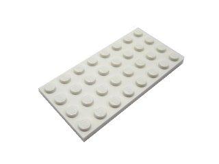 #3035 プレート 4x8 【白】 /Plate 4x8:[White]