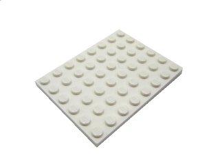 #3036 プレート 6x8 【白】 /Plate 6x8:[White]