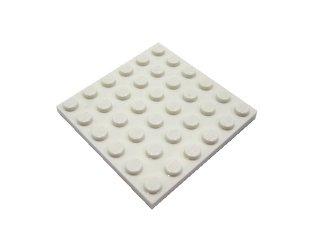 #3958 プレート 6x6 【白】 /Plate 6x6 :[White]