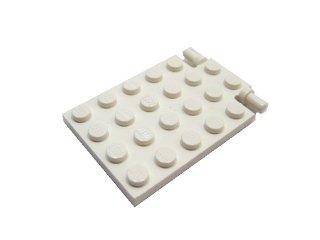 #92099  プレート 4x5  トラップドア  【白】 /Plate 4x5 Trap Door :[White]