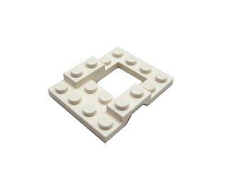 #4211 カー ベース 4x5  【白】 /Car Base 4x5 :【White】