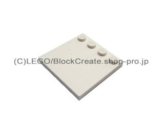 #6179 タイル 4x4 エッジスタッド  【白】 /Tile 4x4 with Studs on Edge  :[White]