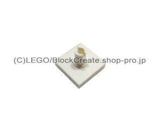 #2460 タイル 2x2 垂直ピン  【白】 /Tile 2x2 with Vertical Pin  :[White]