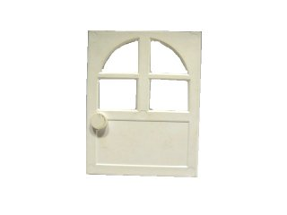 #6234 ドア 2x6x6  【白】 /Door for Frame 2x6x6 :[White]