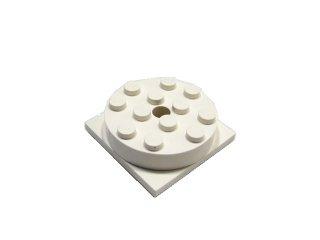 #3403  ターンテーブル 4x4  【白】 /Turntable 4x4 :[White]