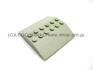 #4509 スロープ ブロック 33° 6x6   【旧灰】 /Slope Brick 33° 6x6 Double  :[Gray]