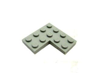 #2639 プレート 4x4 コーナー 【旧灰】 /Plate 4x4 Corner :[Gray]