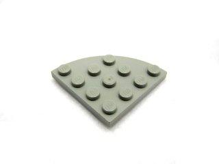 #30565 プレート ラウンドコーナー 4x4  【旧灰】 /Plate 4x4 Corner Round  :[Gray]
