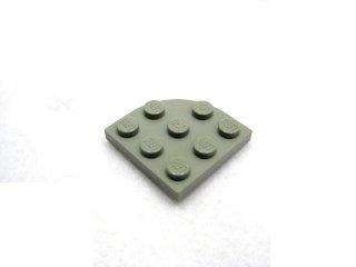 #30357 プレート ラウンドコーナー 3x3  【旧灰】 /Plate 3x3 Corner Round  :[Gray]