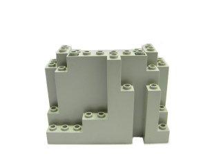 #6082 ウォール パネル 4x10x6 岩肌  【旧灰】 /Panel 4x10x6 Rock Rectangular :[Gray]