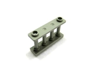 #30055  フェンス 1x4x2  【旧灰】 /Fence Spindled 1x4x2 with 2 Top Studs  :[Gray]