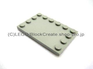 #6180 タイル 4x6 エッジスタッド  【旧灰】 /Tile 4x6 with Edge Studs :[Gray]