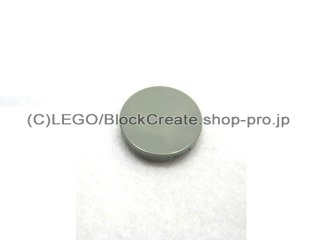 #4150 タイル 2x2 フラットラウンド  【旧灰】 /Round Tile 2x2 :[Gray]