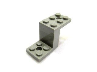 #6087  ブラケット 5x2x2&1/3  【旧灰】 /Bracket  2x5x2.33 without Inside Stud Holder :[Gray]