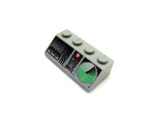 #3037 スロープ ブロック 45° 2x4 プリント  【旧灰】 /Slope Brick 45° 2x4 with Decoration :[Gray]