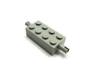 #6249 ホイール ホルダー  ブロック 2x4  【旧灰】 /Brick 2x4 with Pins :[Gray]