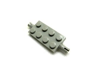 #30157 ホイール ホルダー  プレート 2x4  【旧灰】 /Plate 2x4 with Pins :[Gray]