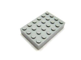 #2356 ブロック 4x6 【新灰】 /Brick 4x6 :[Light Bluish Gray]
