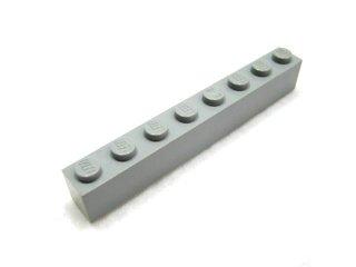 #3008 ブロック 1x8 【新灰】 /Brick 1x8 :[Light Bluish Gray]