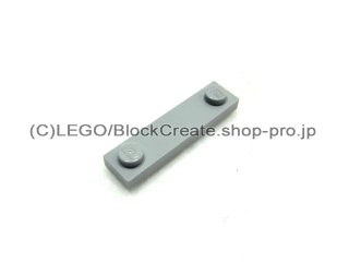 #92593 タイル 1x4 エッジスタッド  【新灰】 /Plate 1x4 with Two Studs  :[Light Bluish Gray]