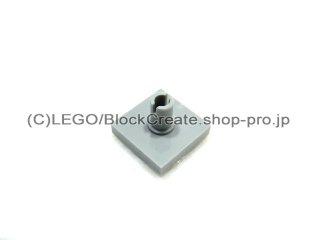 #2460 タイル 2x2 垂直ピン  【新灰】 /Tile 2x2 with Vertical Pin  :[Light Bluish Gray]