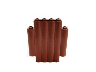 #30140 ウォールパネル 2x6x6  丸太  【新茶】 /Panel 2x6x6 Log Wall :[Reddish Brown]