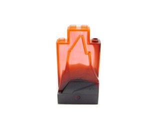 #47847 ウォール パネル 2x4x6 岩肌  【蛍光オレンジ】 /Panel 2x4x6 Rock with Decoration :[Tr,Neon Orange]