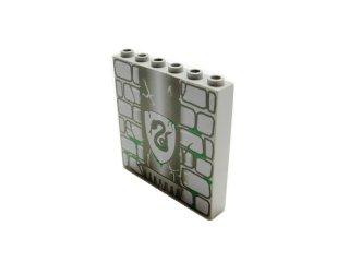 #3754 ブロック 1x6x5 プリント  【旧灰】 /Brick 1x6x5 with Decoration :[Gray]