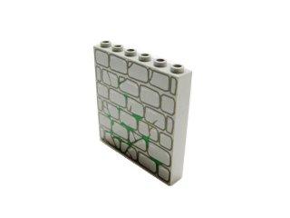 #3754 ブロック 1x6x5 (石)  【旧灰】 /Brick 1x6x5 with Decoration :[Gray]