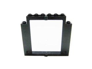 #40253 ドアフレーム 2x8x6 回転 ノッチなし  【黒】 /Door 2x8x6 Revolving Frame without Bottom Notches :[Black]