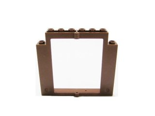 #40253 ドアフレーム 2x8x6 回転 ノッチなし  【旧茶】 /Door 2x8x6 Revolving Frame without Bottom Notches :[Brown]