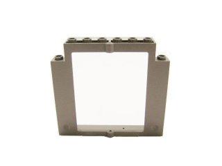 #40253 ドアフレーム 2x8x6 回転 ノッチなし  【旧濃灰】 /Door 2x8x6 Revolving Frame without Bottom Notches :[Dark Gray]