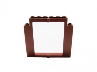 #40253 ドアフレーム 2x8x6 回転 ノッチなし  【新茶】 /Door 2x8x6 Revolving Frame without Bottom :[Reddish Brown]