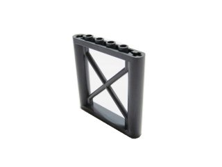 #64448 サポート 1x6x5 四角桁  【新濃灰】 /Support 1x6x5 Girder Rectangular  :[Dark Bluish Gray]