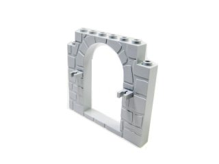 #40242 ドアフレーム 1x8x6  【新灰】 /Door 1x8x6 Frame :[Light Bluish Gray]