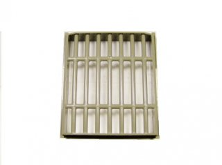 #40942 バー 8x8x2 グリル格子 【旧濃灰】 /Bar 8x8x2 Sliding Grill Lattice :[Dark Gray]