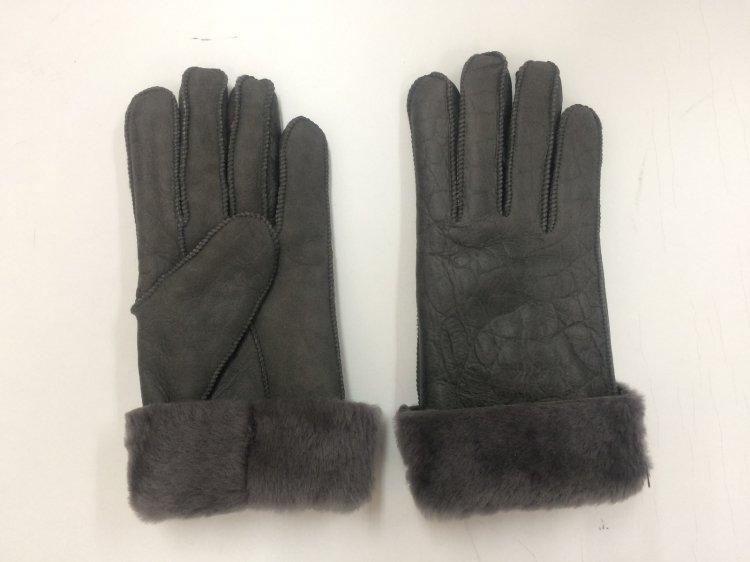 ムートン手袋 スリムタイプ