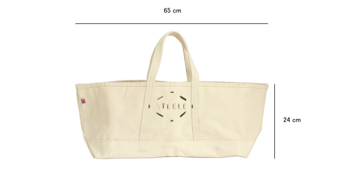 STEELE NATURAL CANVAS TOTEBAG 0.56