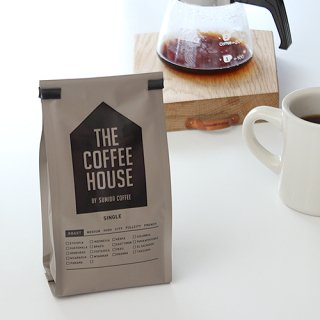 THE COFFEE HOUSE すみだ珈琲 Decarffeinated Peru city roast コーヒー豆 200g