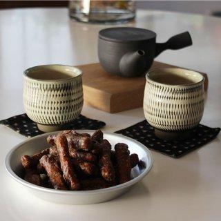 松野屋 アルマイトパイ皿 15cm