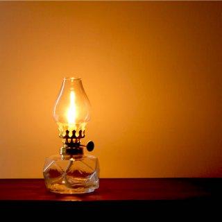松野屋 ガラスオイルランプ