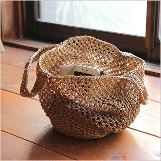 松野屋 笹編み手提 小