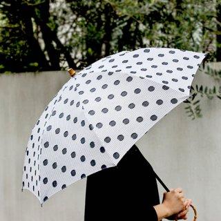 SUR MER ジャガード水玉 長傘/折りたたみ傘