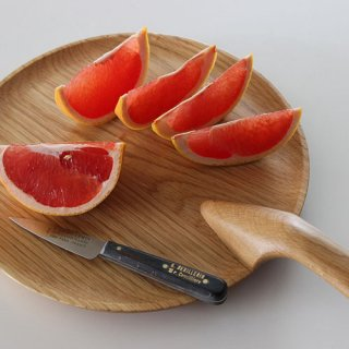 MENAGERI Serving dish φ24.5cm oak