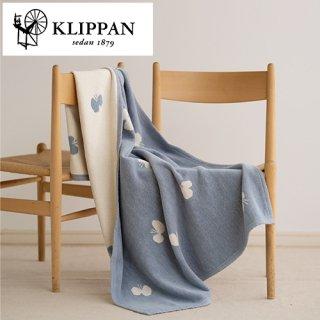 KLIPPAN ハーフブランケット CHOUCHO 90x140cm