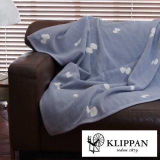KLIPPAN シングルブランケット ミナ 140x180cm