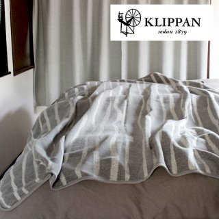 KLIPPAN シングルブランケット ライト 140x180cm