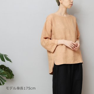 LINEN TALES bilberry top Noカラーブラウス