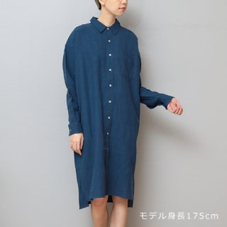 LINEN TALES guelder rose dress BIGシャツOP